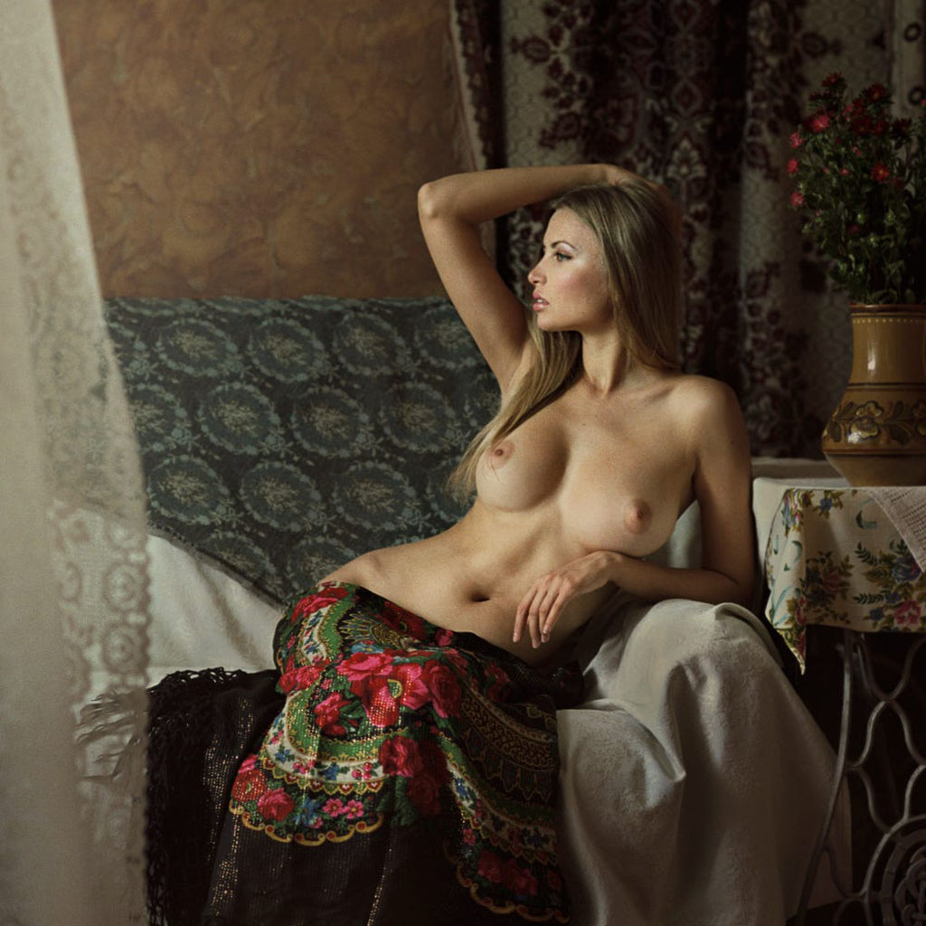 Обнаженная Русская Красота