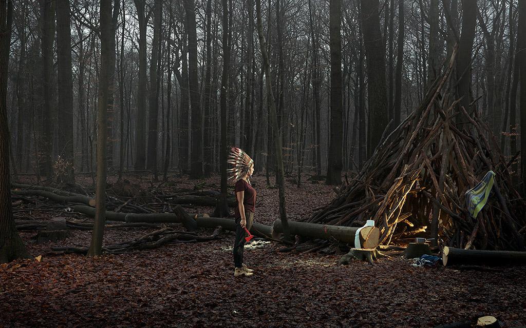 Себастьян Бауманн, Выросший, фотопроект