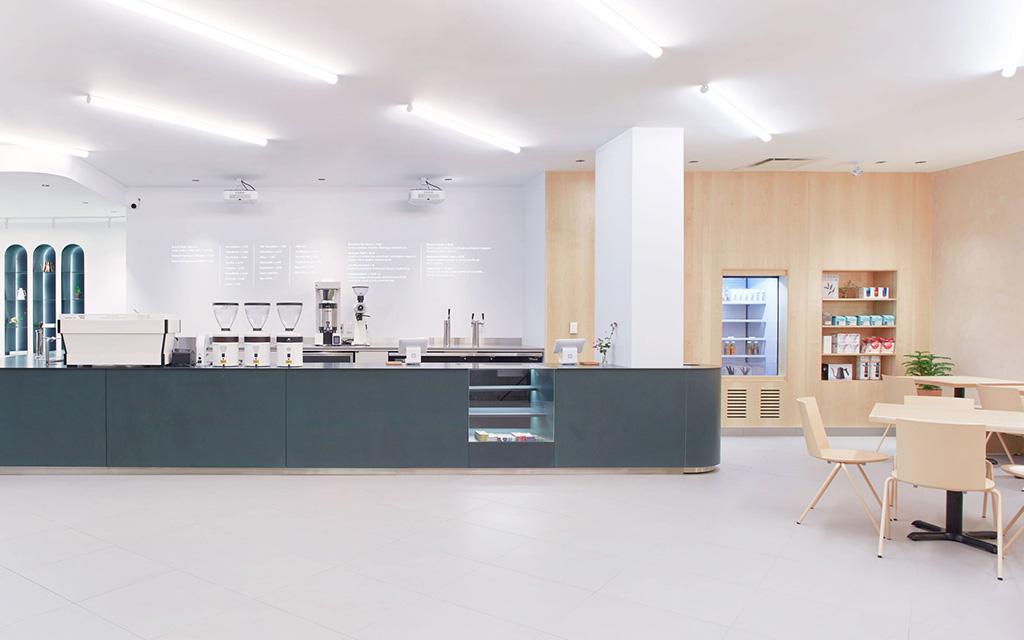 Минималистское кафе, кафе, Early Bird