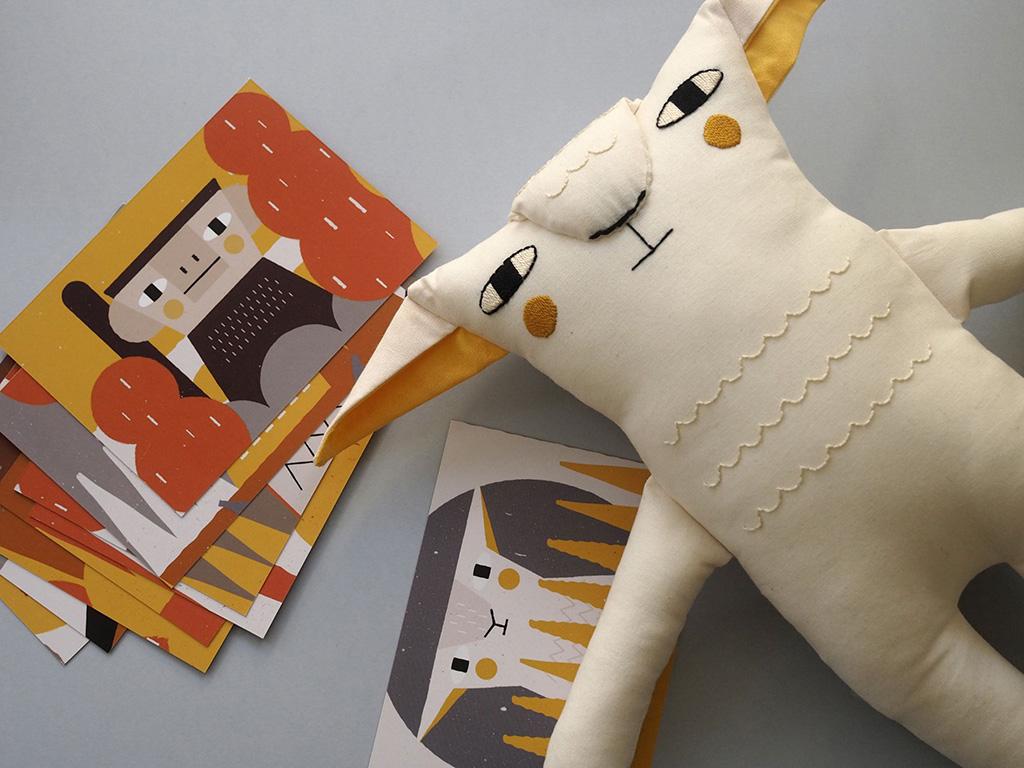 милые животные, Эльзы Бучиньи, Elsa Boucinha, игрушки