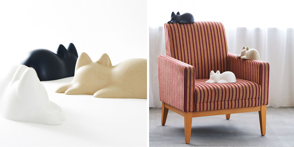Neko Cup, форма кошки, кот из песка, форма
