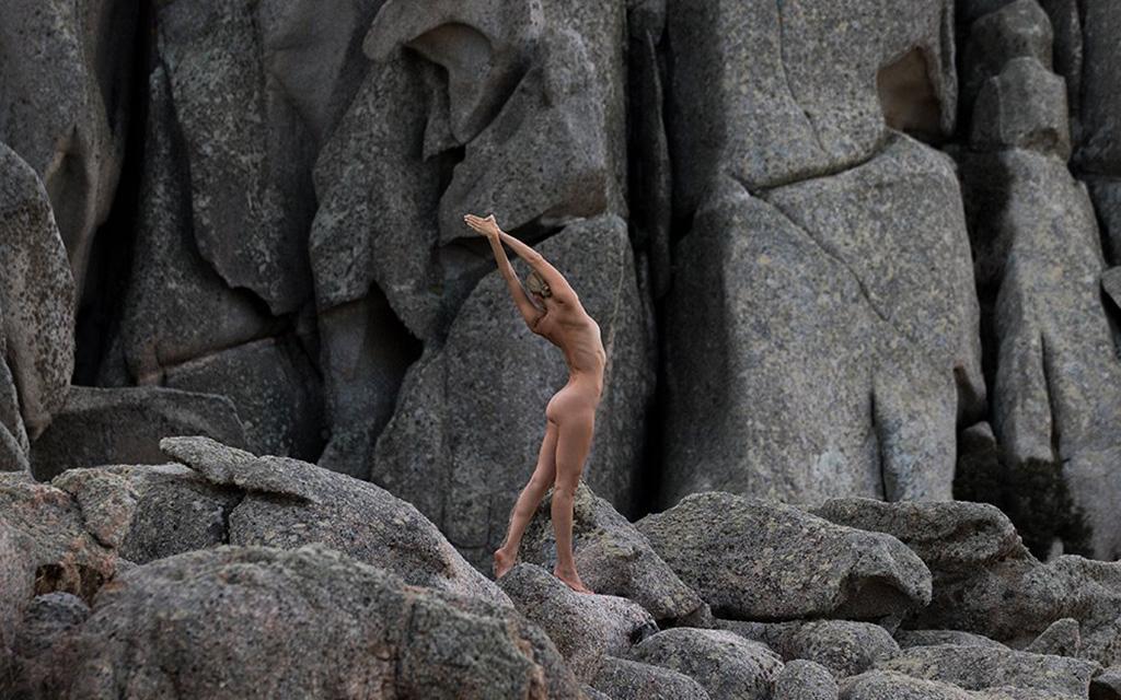 Nude Yoga Girl, йога, фотограф