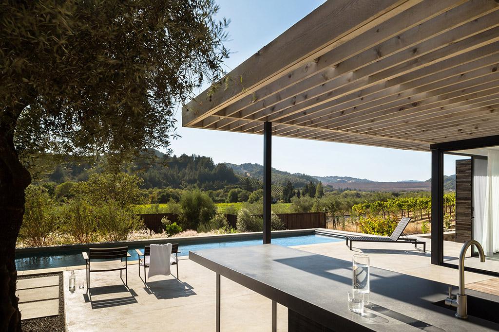 дом с бассейном, дизайн-студия, Ro Rockett Design