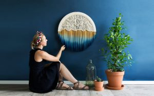 Rianne Aarts,teddyandwool,макраме, картины