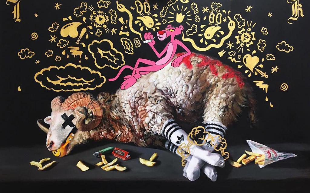 барокко, современные штрихи, Кэти Агер