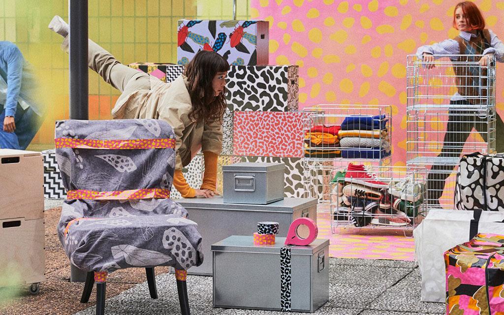 вещи для переезда, Ombyte, IKEA