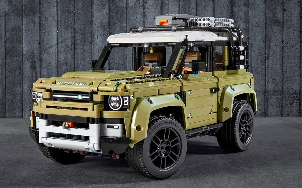 Коснтурктор LEGO, Technic, Land Rover Defender