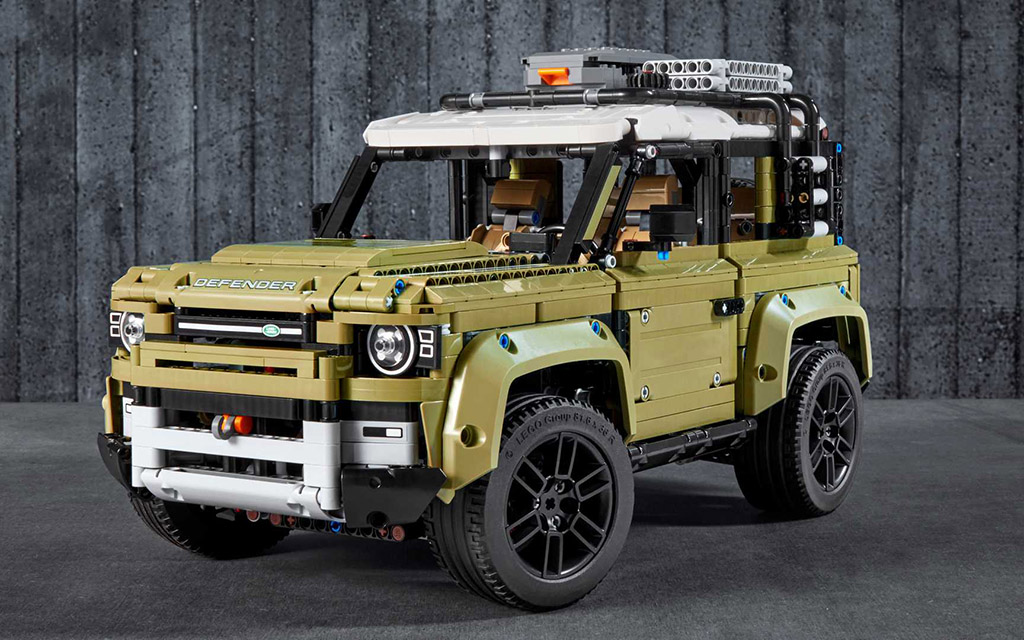 Коснтурктор LEGO, Technic, Land Rover Defender