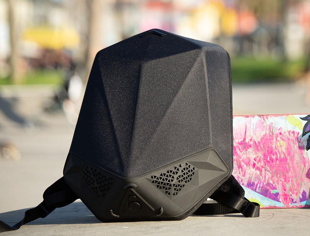 Музыкальный рюкзак, рюкзак с колонками, Speaker Backpack