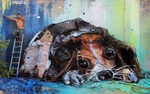 Большие животные из мусора, Big Trash Animals, Артура Бордало, Artur Bordalo