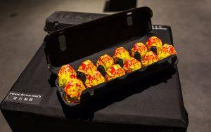 Яйца в коробке от Версаче, йогурт в стилистике Тиффани и консервы Гуччи, Педди Мергуи