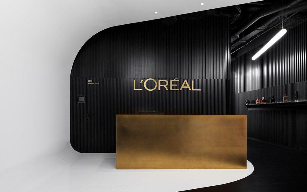 дизайн офиса, L'Oreal